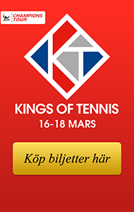 Champions Tour, King of Tennis, 16-18 mars